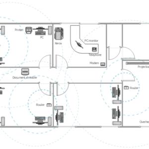 Acme Graphic Design Wireless WLAN Network Plan